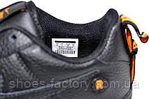 Мужские кроссовки в стиле Nike Air Force 1 '07 Lv8 Utility, Black\Orange, фото 3