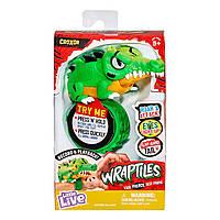 Интерактивный браслет крокодил рептилия Little Live Pets Wraptiles Croxor оригинал