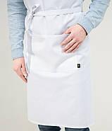 Фартух Latte Подовжений Білий, фото 4