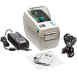 Принтер этикеток Zebra LP2824 Plus USB + LAN с отделителем