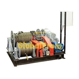 Лебедка маневровая электрическая ТЛ-8Б 315 т
