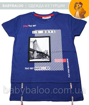 """Стильная футболка для мальчика """"Мост"""" (от 8 до 12 лет), фото 2"""