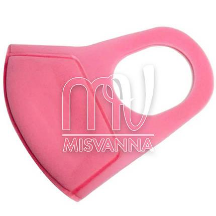 Многоразовая защитная угольная маска, 1 шт розовая, фото 2