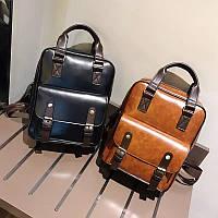 Сумка рюкзак женский стильный винтажный 3 цвета.