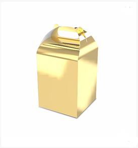 """Подарочная бонбоньерка """"Мега"""", золото"""