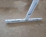 Стійка 1450х500 перфорована двохстороння для металевих стелажів з основою, фото 6