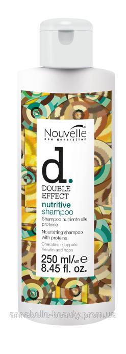 Оживляющий шампунь Nouvelle Nutritive Shampoo 250 мл