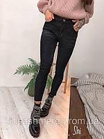 Женские узкие Джинсы skinny черные, серо-черные