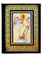 """Подарочный комплект """"Библия и Евангелие"""" в 2-х томах в кожаном переплете ручной работы"""