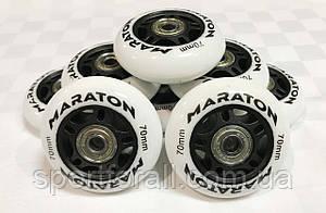 Колеса для роликовых коньков с подшипниками MARATON (8 шт.) d-70мм