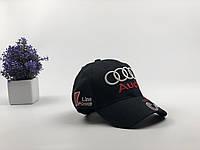 Кепка бейсболка Авто Audi (черная)