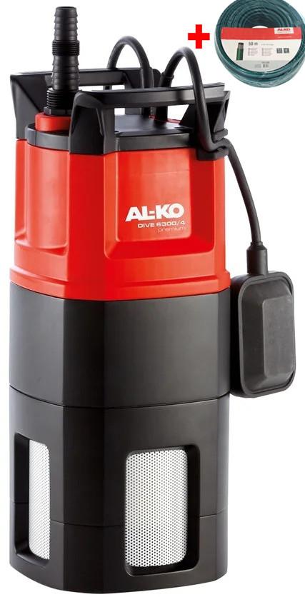 Погружной насос высокого давления AL-KO Dive 6300/4 Premium (Подарок + Бесплатная доставка)