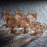 "Набор бокалов для коньяка 400 мл ""Папоротник"" 6 шт."