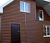 Сайдинг Металлический Блок Хаус Мат, Глянец Под Дерево, фото 2