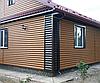 Сайдинг Металлический Блок Хаус Мат, Глянец Под Дерево, фото 5