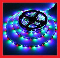 Светодиодная лента LED 3528 RGB комплект 4.5 метров, разноцветная, фото 1