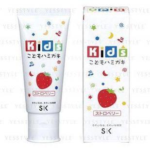 SK Kids дитяча зубна паста зі смаком полуниці 60 г