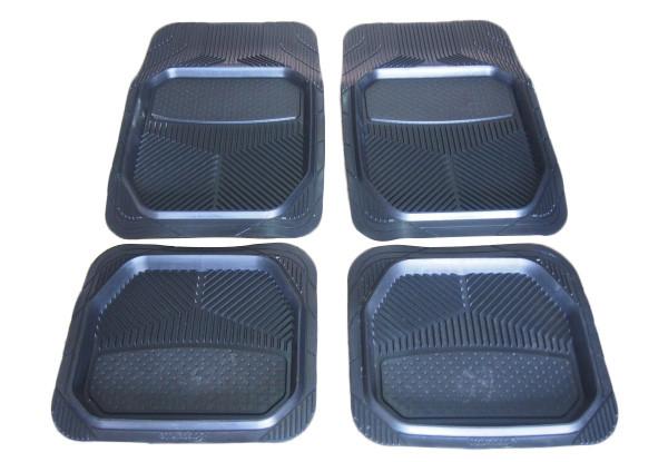 Коврики автомобильные FAVORIT универсальные черные в комплекте  4 штуки