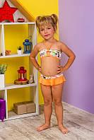 116-134,  купальник на девочку , детский, 100% хлопок