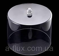 Крышка - колпак для торта акрил 245*245*195 мм 9046