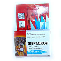 Ивермикол (Прайд) 240мг капли для собак  от 20 кг до 40 кг, Фарматон