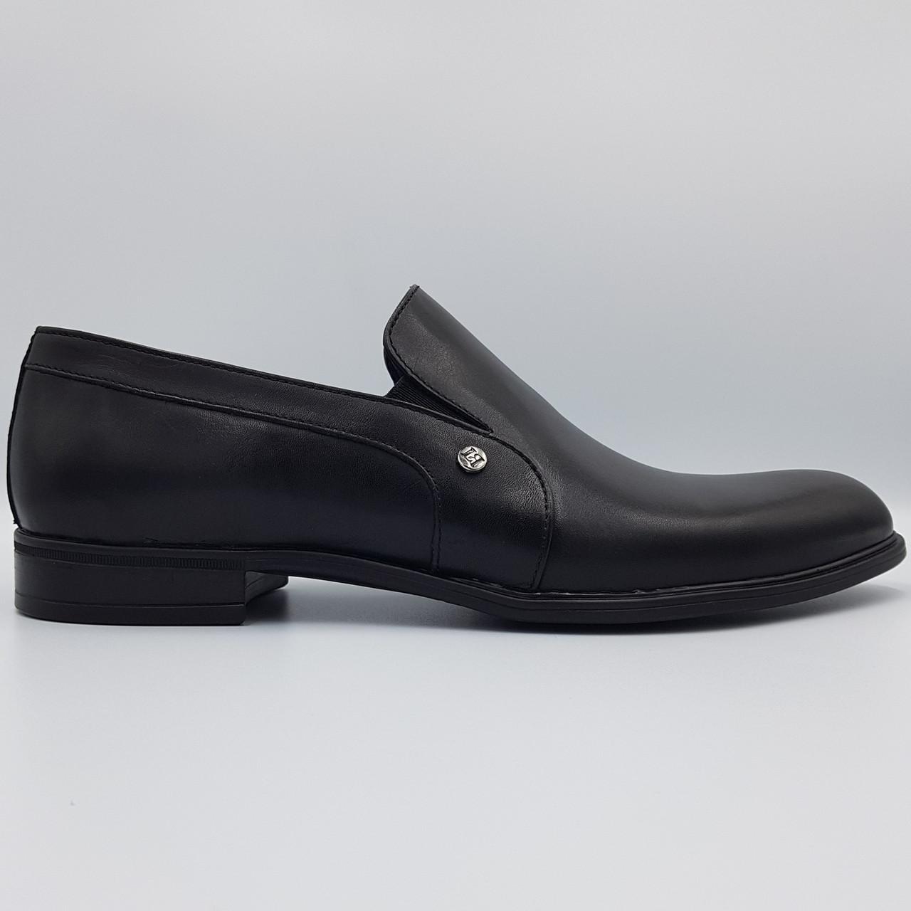 Мужские кожаные туфли Luciano Bellini черные SH0042/42