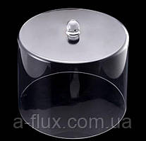 Крышка - колпак для торта акрил 200*200*165 мм 9047