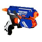 """Пистолет бластер """"Blaze Storm"""" с мягкими пулями Nerf Нерф   , фото 2"""