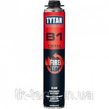 Піна вогнезахисна Tytan Professional B1, об'єм 750мл. професіональна.