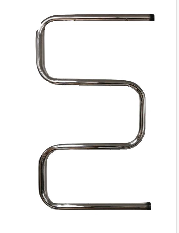 Змеевик Аквакомфорт 800*500-3 колена толщина 3мм нерж сталь со швом TIG