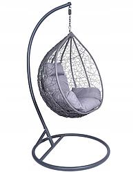 Подвесное кресло-кокон Canari (серый)