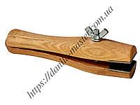 Держатель деревянный для колец с винтом (Moon-591)