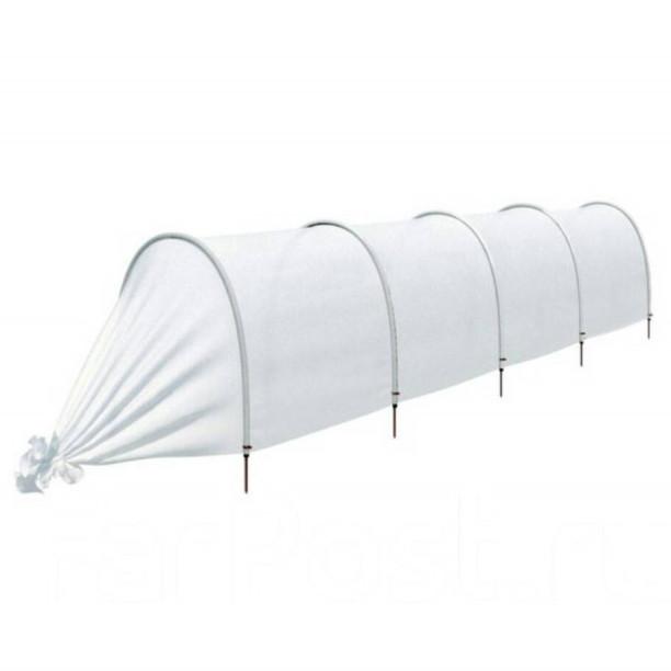 Теплица мини парник из агроволокна Agreen 15 м, плотность 40 г/кв.м (теплиця)