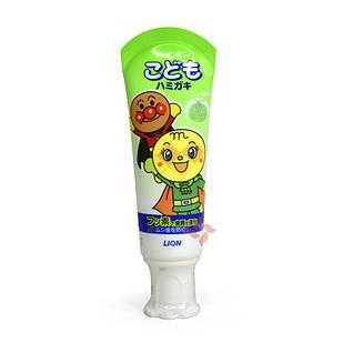 Lion Kids Anpanman слабоабразивная дитяча зубна паста зі смаком дині Kodomo 40 гр