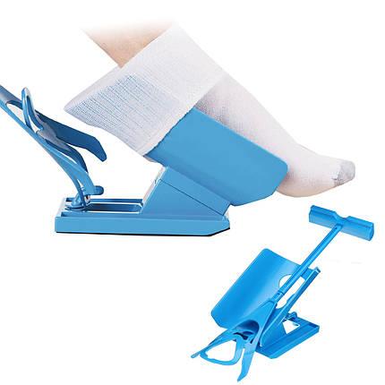 Одевайка Sock Slider для надевания носков приспособление беременным и людям с заболеваниями спины ХИТ, фото 2