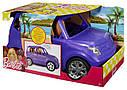 Внедорожник для кукол Барби Barbie SUV Vehicle Mattel DVX58, фото 8