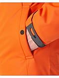 Куртка чоловіча Riccardo V-1 Оранжева 100% поліестер 46(Р), фото 2