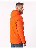 Куртка чоловіча Riccardo V-1 Оранжева 100% поліестер 46(Р), фото 3