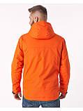 Куртка чоловіча Riccardo V-1 Оранжева 100% поліестер 46(Р), фото 4