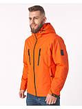 Куртка чоловіча Riccardo V-1 Оранжева 100% поліестер 46(Р), фото 5