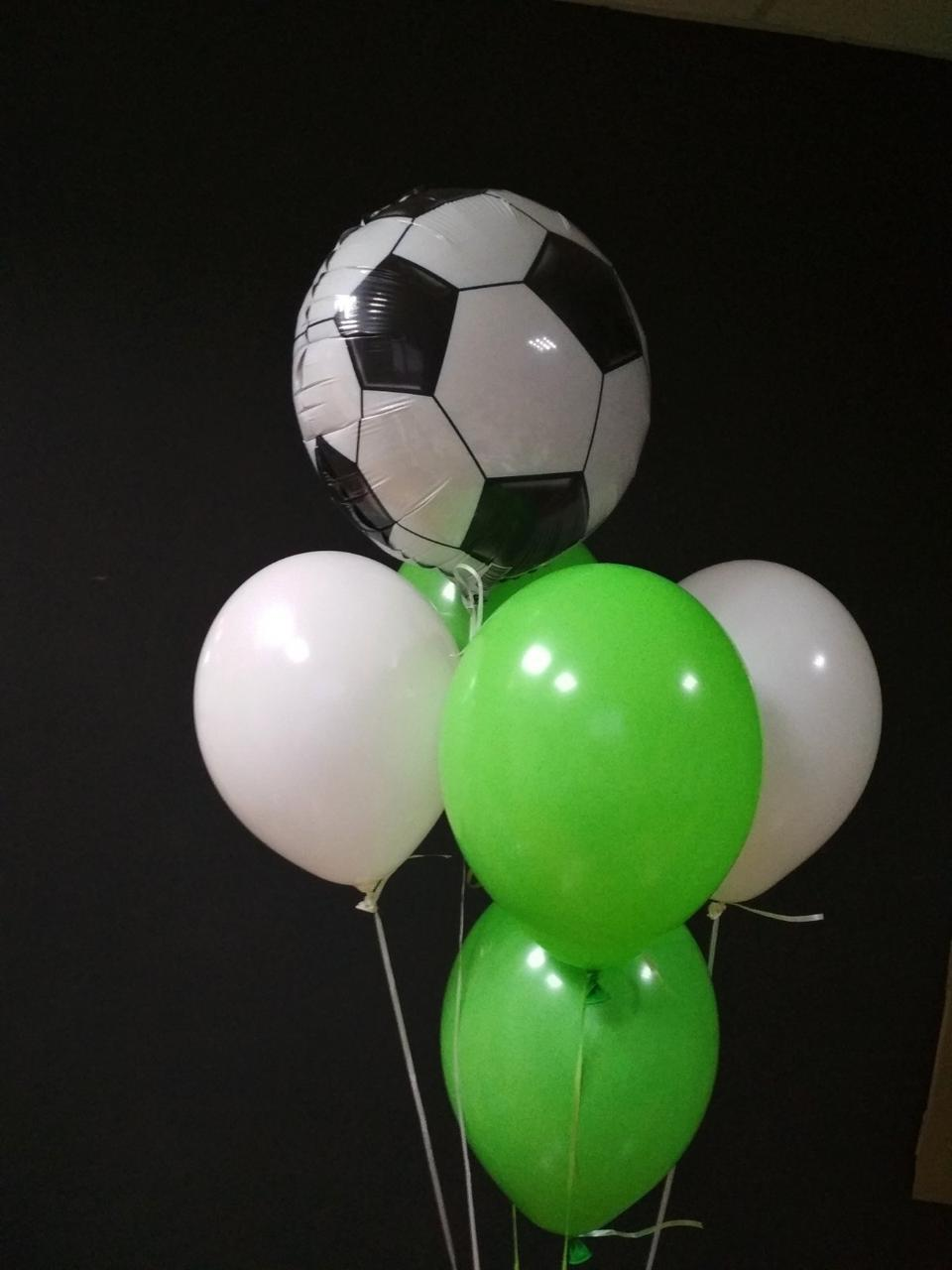 Букет з гелієвих кульок