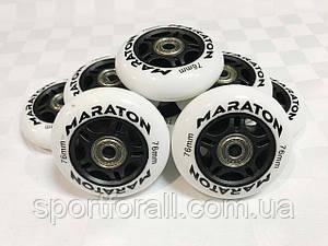 Колеса для роликових ковзанів з підшипниками MARATON (8 шт.) d-76мм