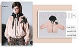 Курточка мех, утеплитель термоволокно, подклад микрофлис, бежевый, Моне, р.140,152, фото 3