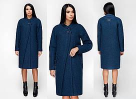 Осенне-весеннее женское  пальто  прямого кроя F-В-1170