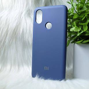 Чехол Xiaomi Mi 6x Mi A2 синий