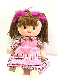 Мягкая игрушка Кукла С38944 в платьице