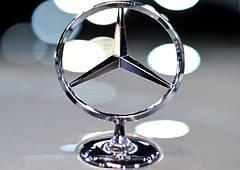 Оригинальные эмблемы и шильдики Mercedes-Benz