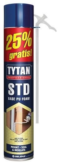 Пена Tytan STD Base 750ml 25% gratis (трубочная)
