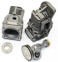 Компрессор пневмоподвески AMK S CL ML GL W221 W164 x164 X5 e70 5 E61 компресор пневмо, фото 1
