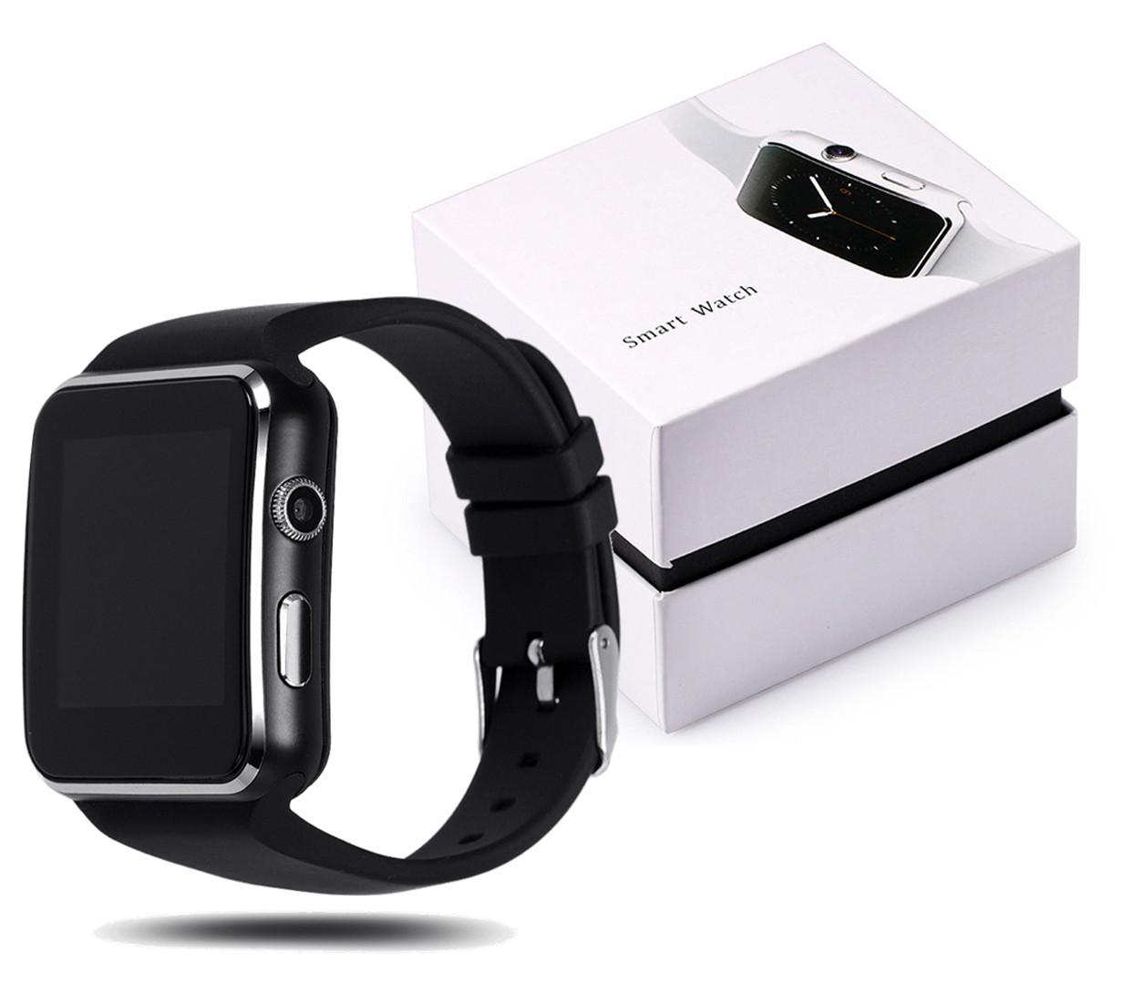 Смарт часы Smart Watch X6 (Черный)